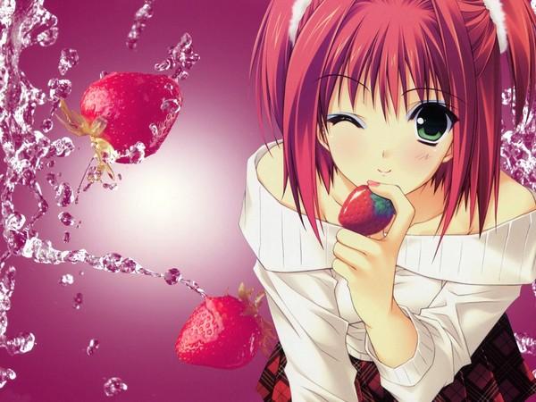 belles images de filles manga