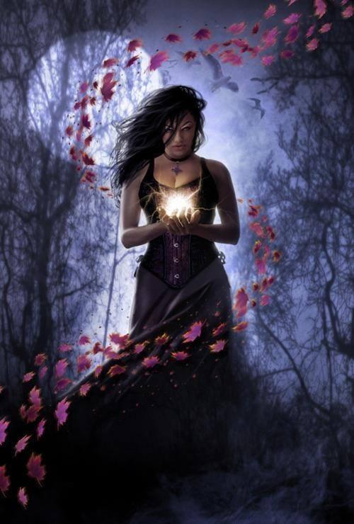 Have kept Sorceress casting spell