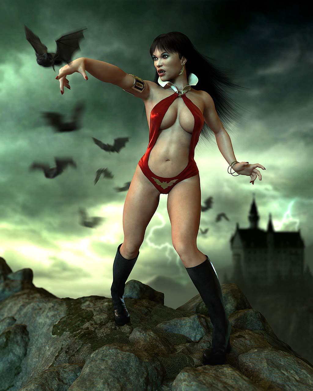 Vampirella nude pics sexy movies